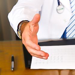 Lääkärien vastaanotto